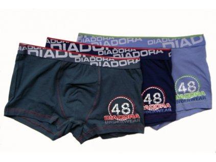 Diadora 874 chlapecké boxerky (Barva modrá tmavá, Velikost oblečení 7-122)
