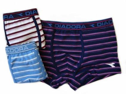 Diadora 888 chlapecké boxerky (Barva modrá tmavá, Velikost oblečení 8-128)