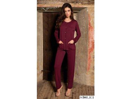 Sielei JP14 dámské pyžamo (Barva růžová, Příslušenství 2XL, Velikost 2 roky)