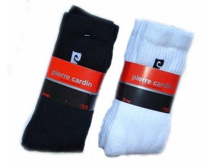 Pierre Cardin PC01 3páry pánské ponožky (Barva bílá, Velikost oblečení 39-42)