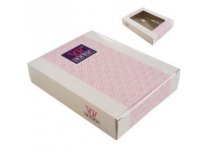 Dárková krabička Andrie bílá (Barva bílá)