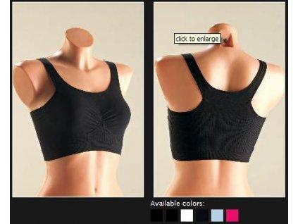 You T2563 dámský sportovní top (Barva černá, Velikost oblečení S/M)