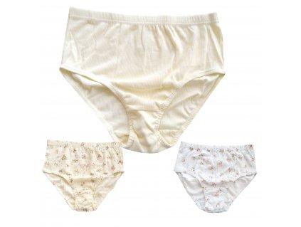 Andrie PS 1710 4XL 3ks mix2 dámské kalhotky