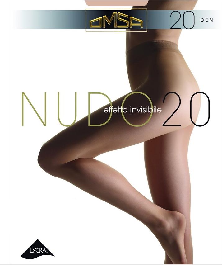 Omsa 219 NUDO20 L 5ks dámské punčochy