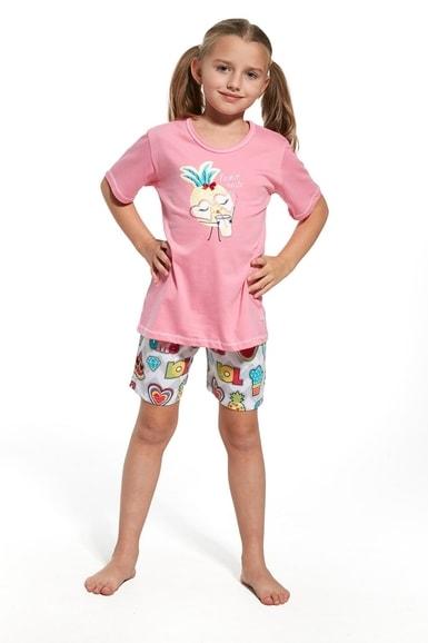 Cornette 787/55 dívčí pyžamo, růžová, 7-122