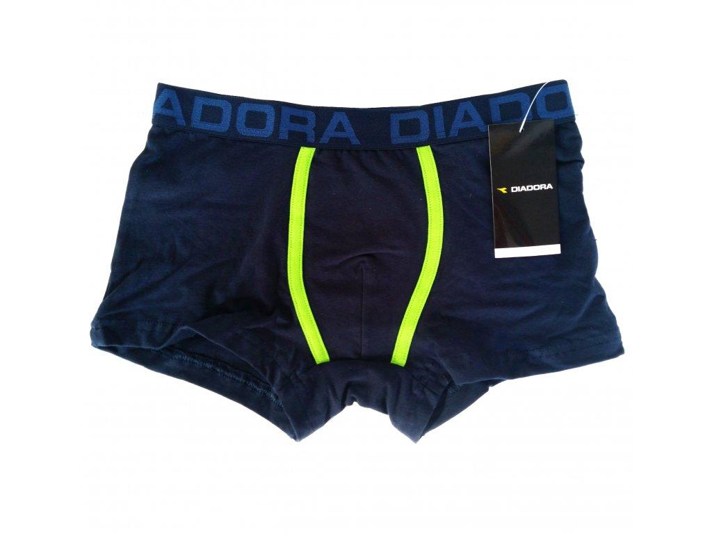 Diadora 00167 chlapecké boxerky, modrá, 11/12-146/152