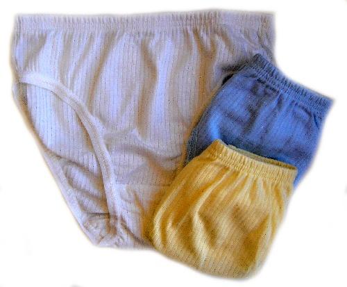 Haillo 0001 dívčí kalhotky, bílá, 11/12-146/152