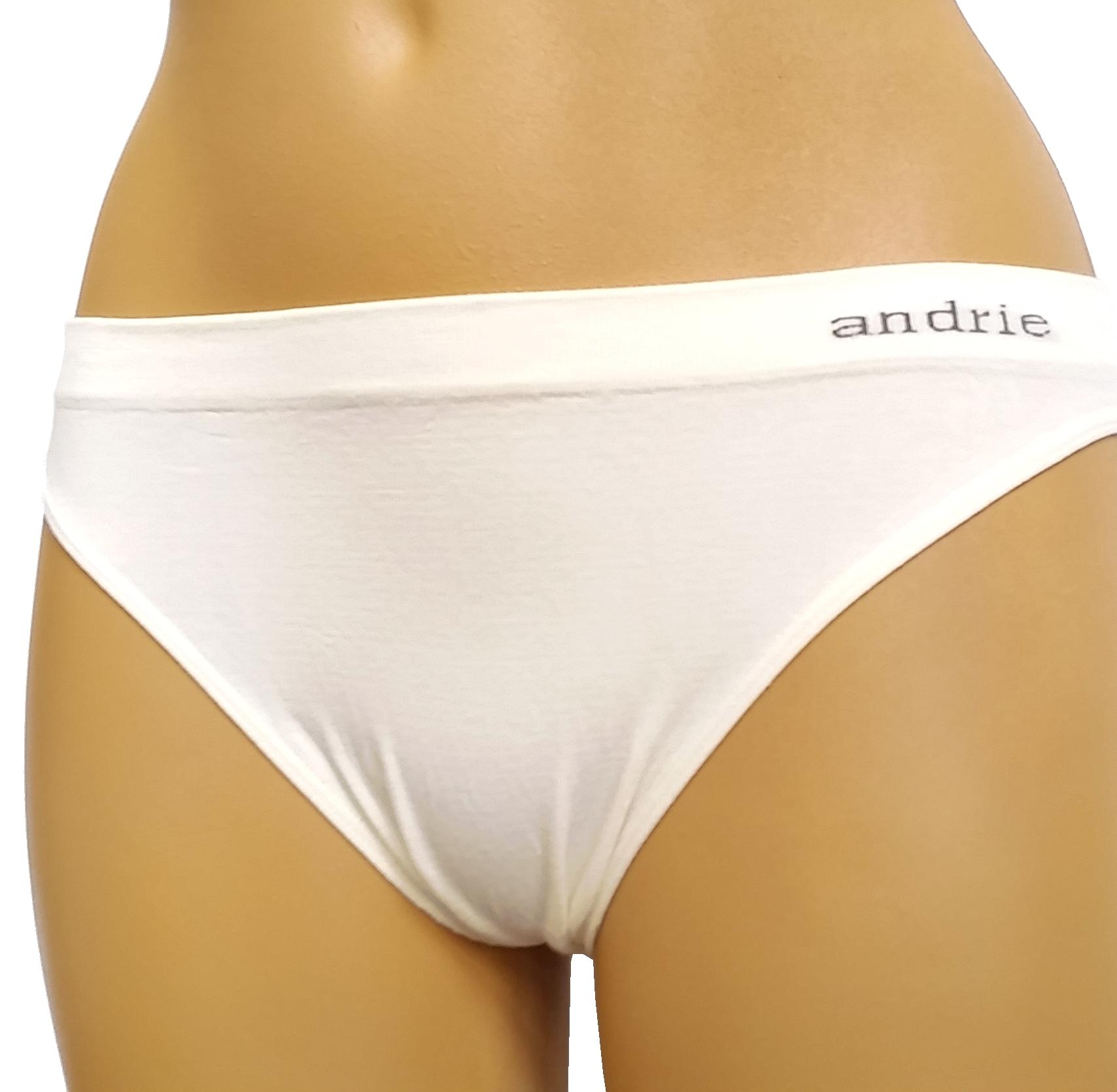Andrie PS 1951 kalhotky dámské bezešvé, bílá, L/XL