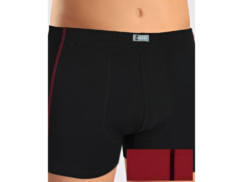 Andrie PS 5118 pánské boxerky, černá, 3XL