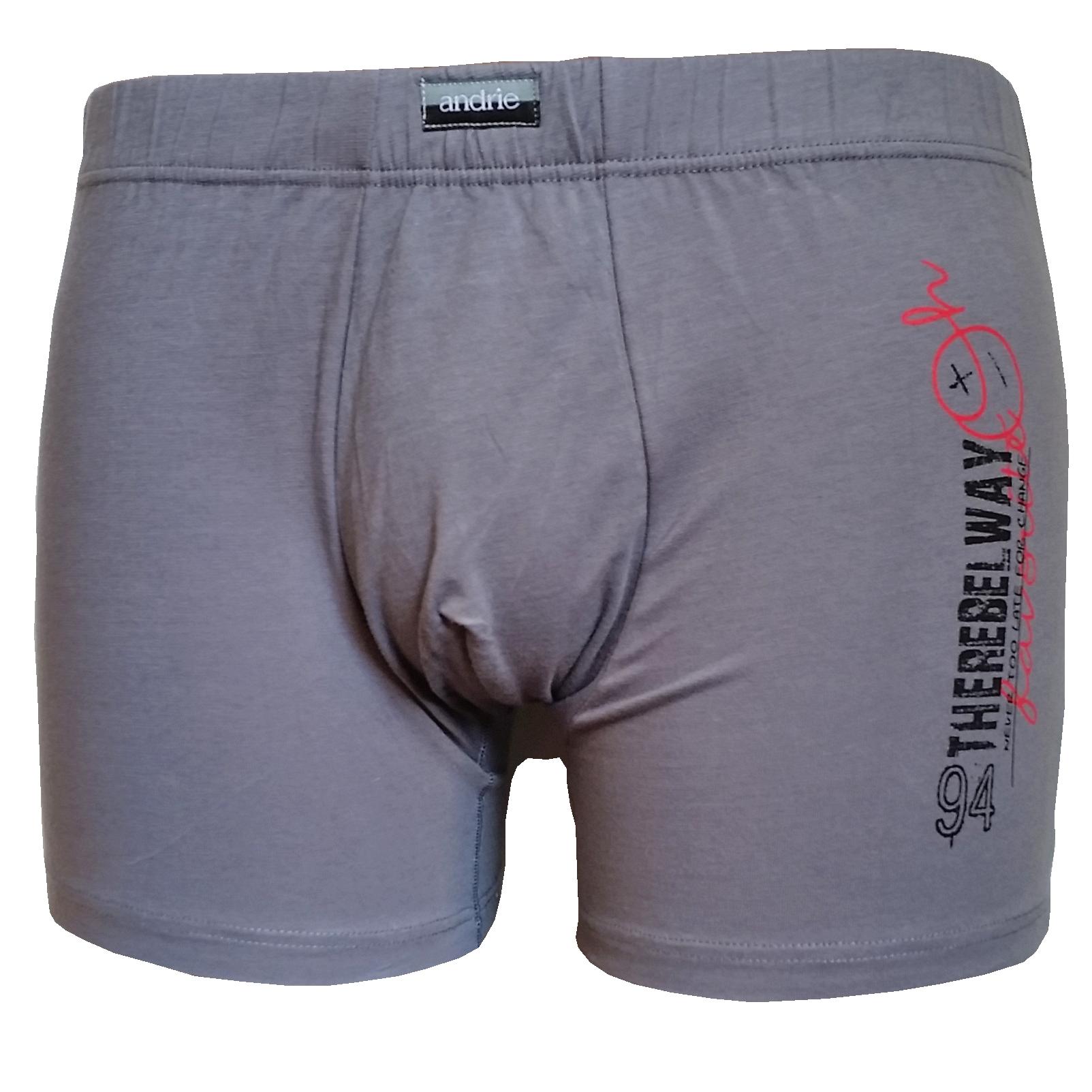 Andrie PS 5173 pánské  boxerky, černá, M