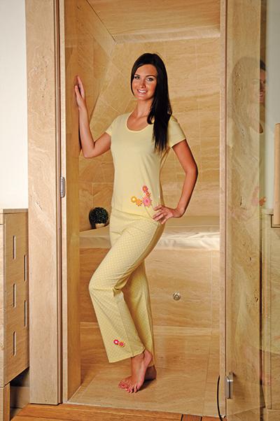 Andrie PS 9170 dámské pyžamo, červená, XL