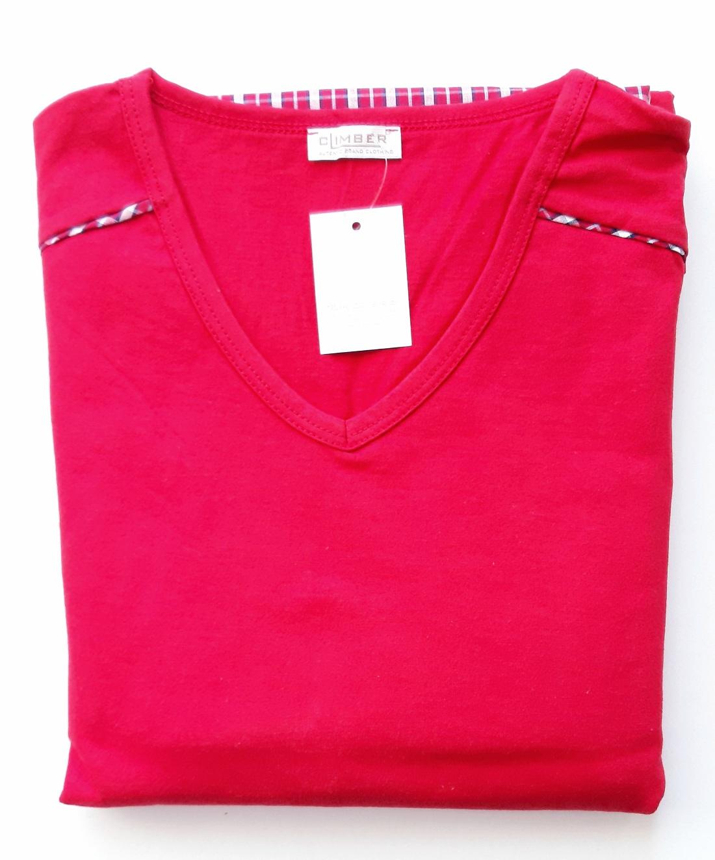 Climber 3606 pánské pyžamo, červená, XL