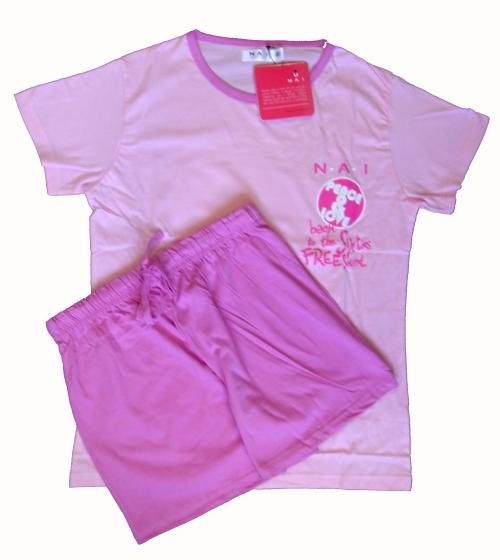 N.A.I. 11591 dámské pyžamo, fialová, M