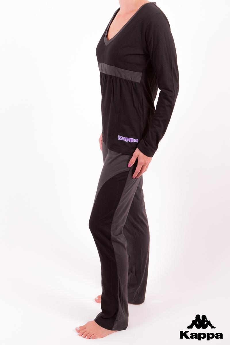 Kappa 4260 dámské pyžamo, černá, XS