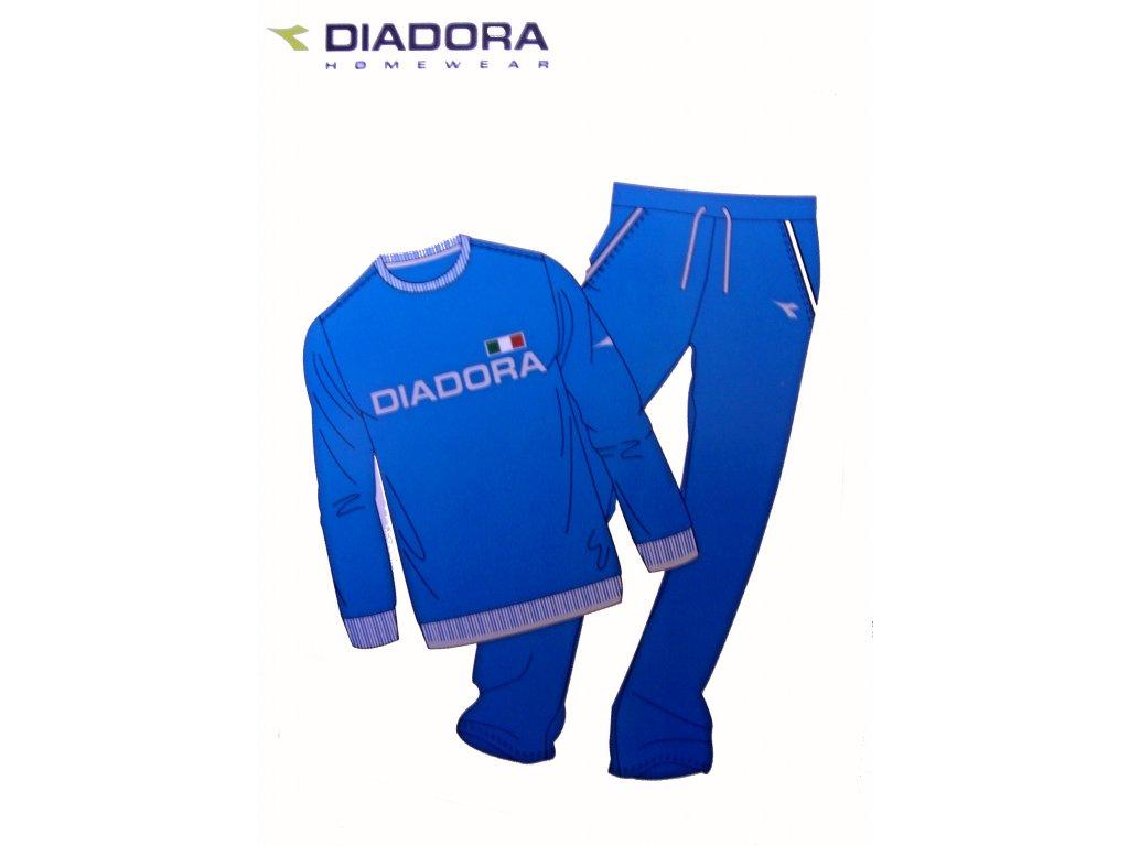 Diadora 60217 pánská domácí souprava, modrá tmavá, M
