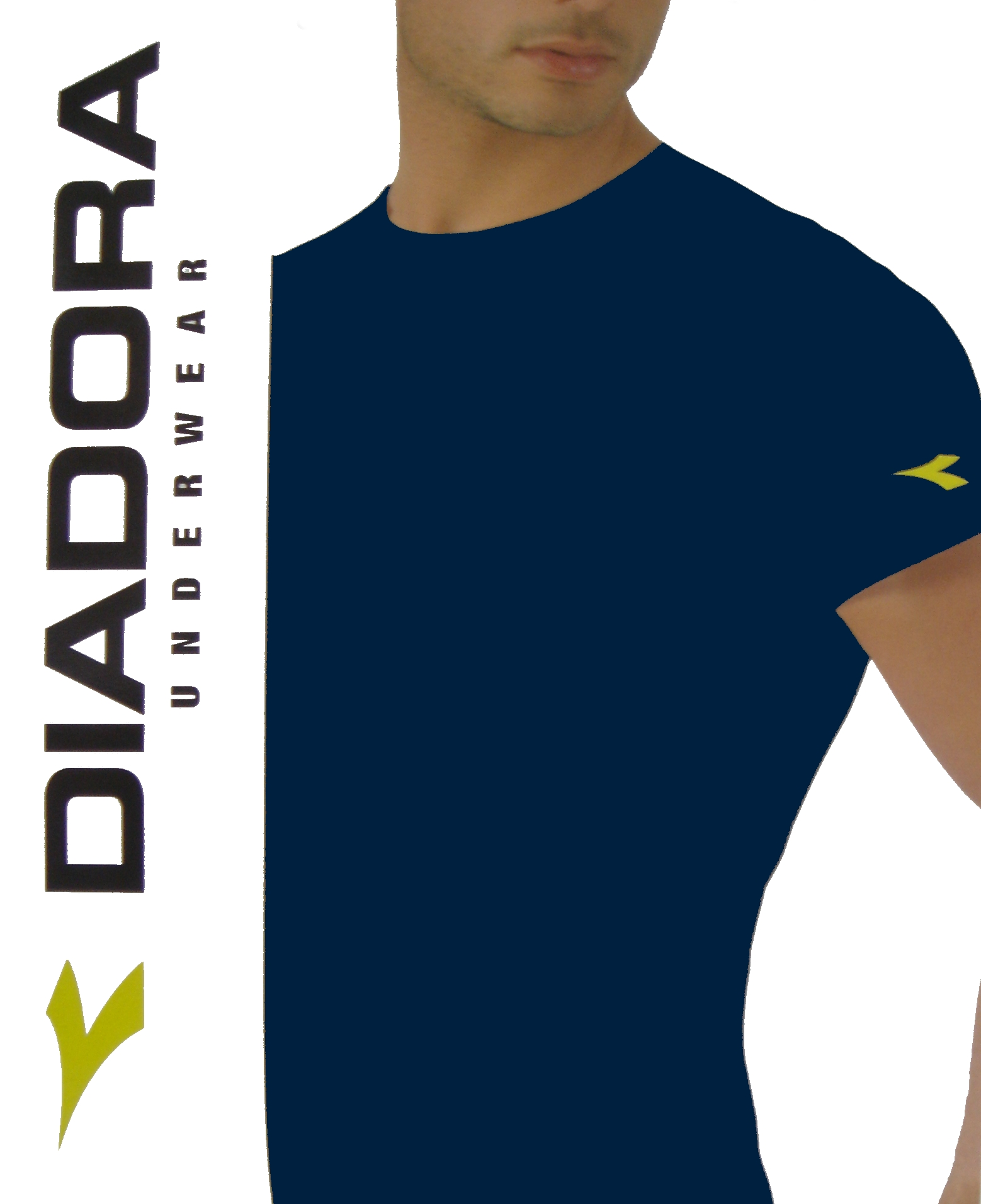 Diadora 6061 pánské tričko, bílá, 2XL
