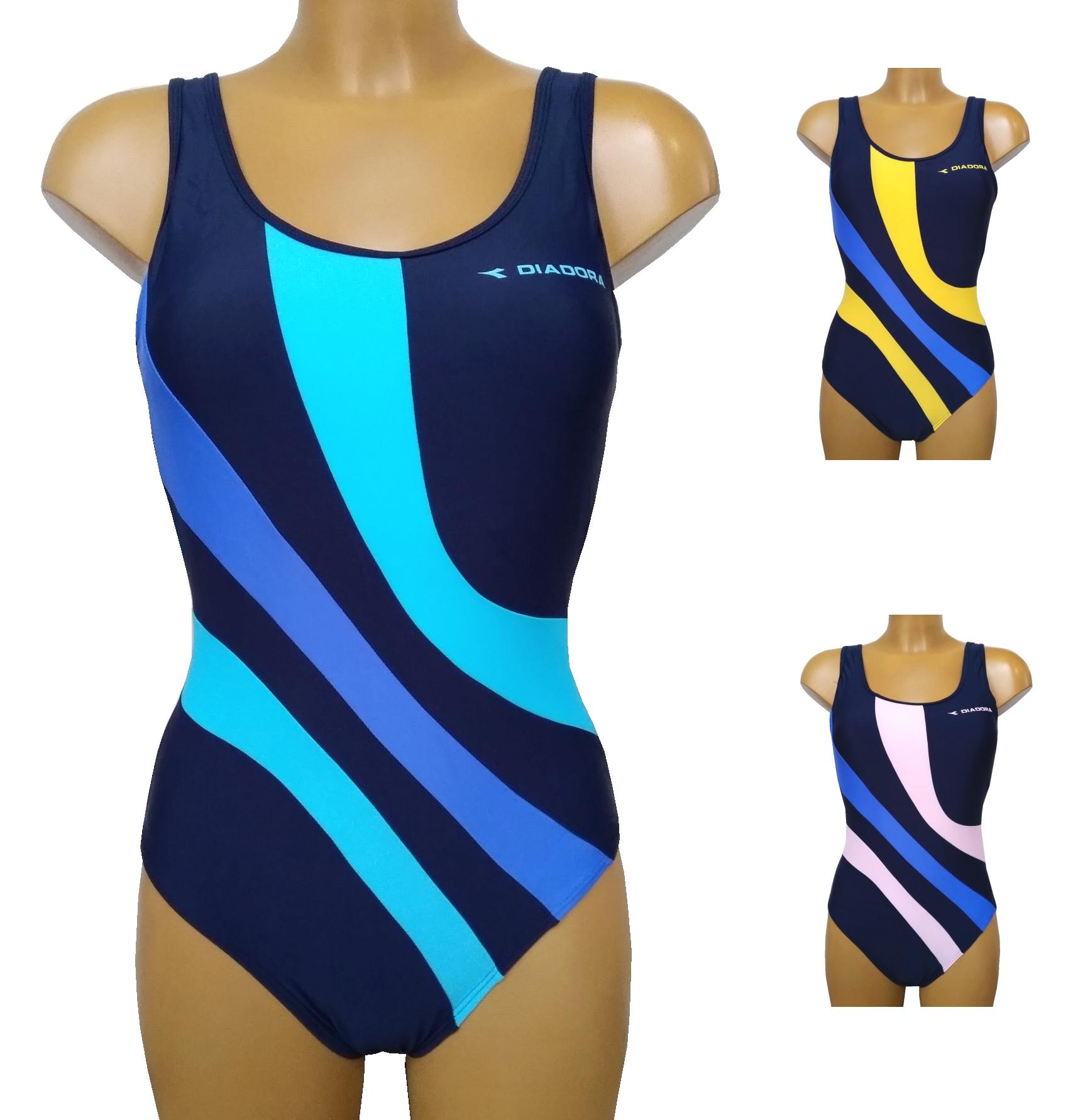 Diadora 61066 dámské plavky, modrá, XS