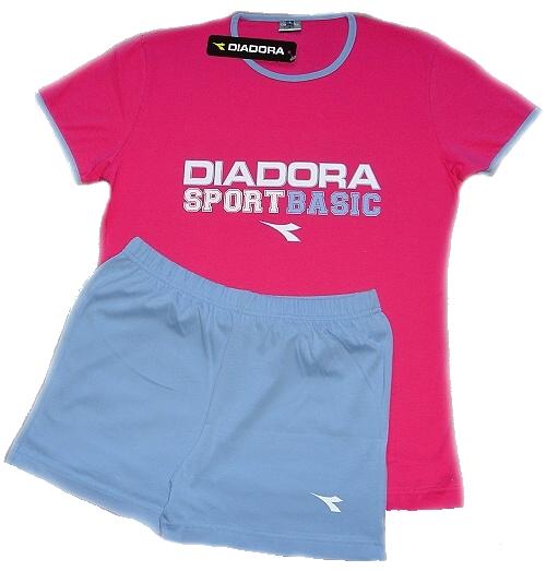 Diadora 62120 dámské pyžamo, fialová, S