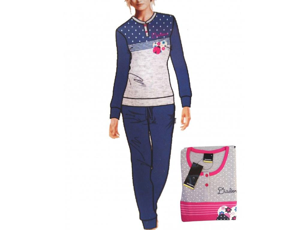 Diadora 62664 dámské pyžamo, modrá, S