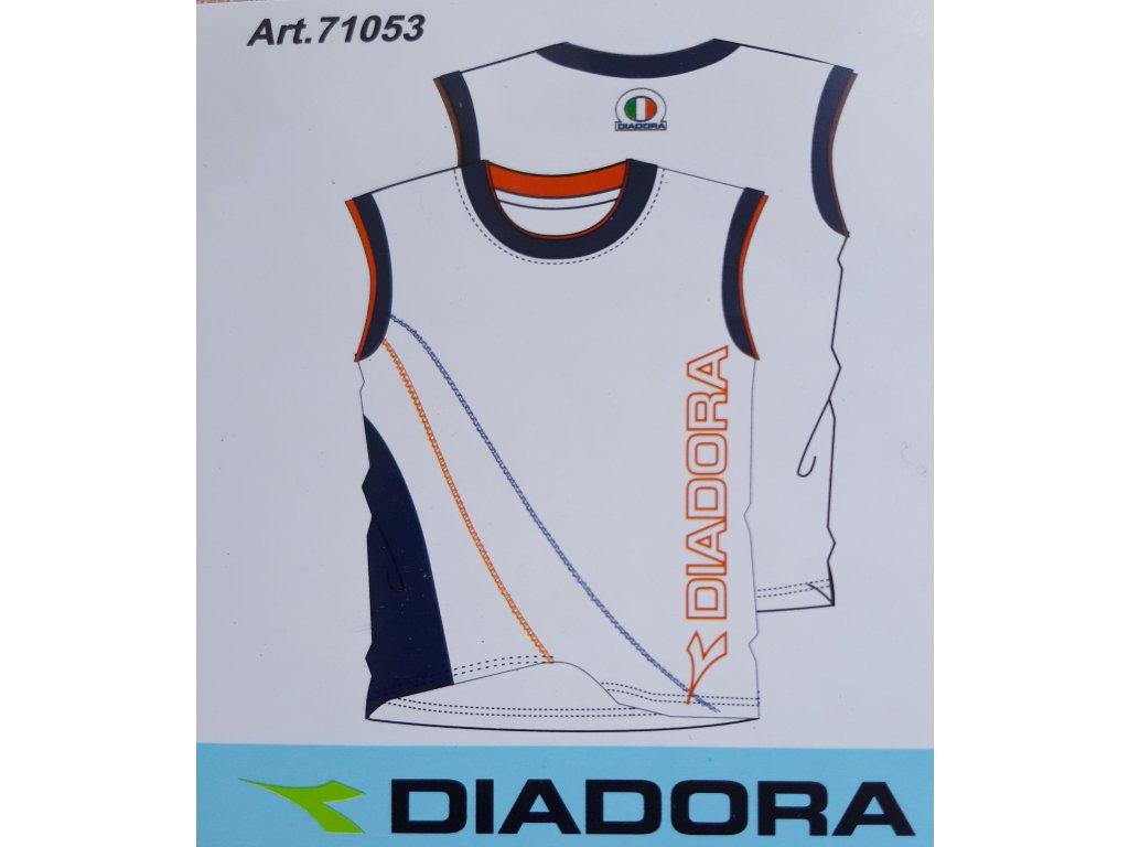 Diadora 71053 pánské tričko, bílá, M
