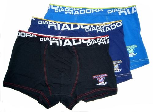 Diadora 805 chlapecké boxerky, modrá tmavá, 7-122