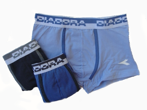 Diadora 858 chlapecké boxerky, modrá tmavá, 8-128