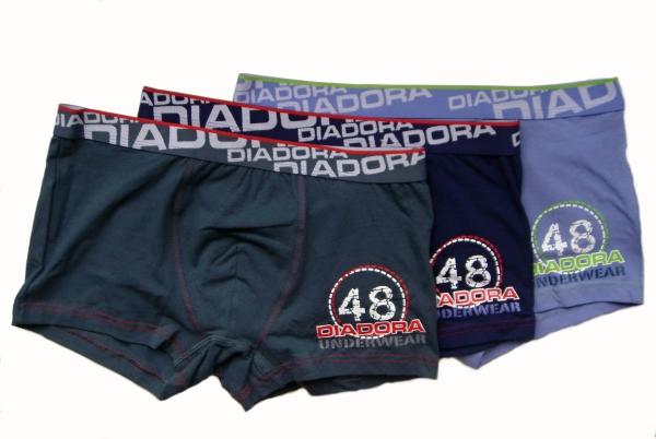 Diadora 874 chlapecké boxerky, modrá tmavá, 7-122