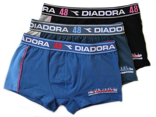Diadora 880 chlapecké boxerky, černá, 7-122