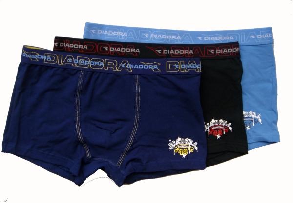 Diadora 882 chlapecké boxerky, modrá, 7-122