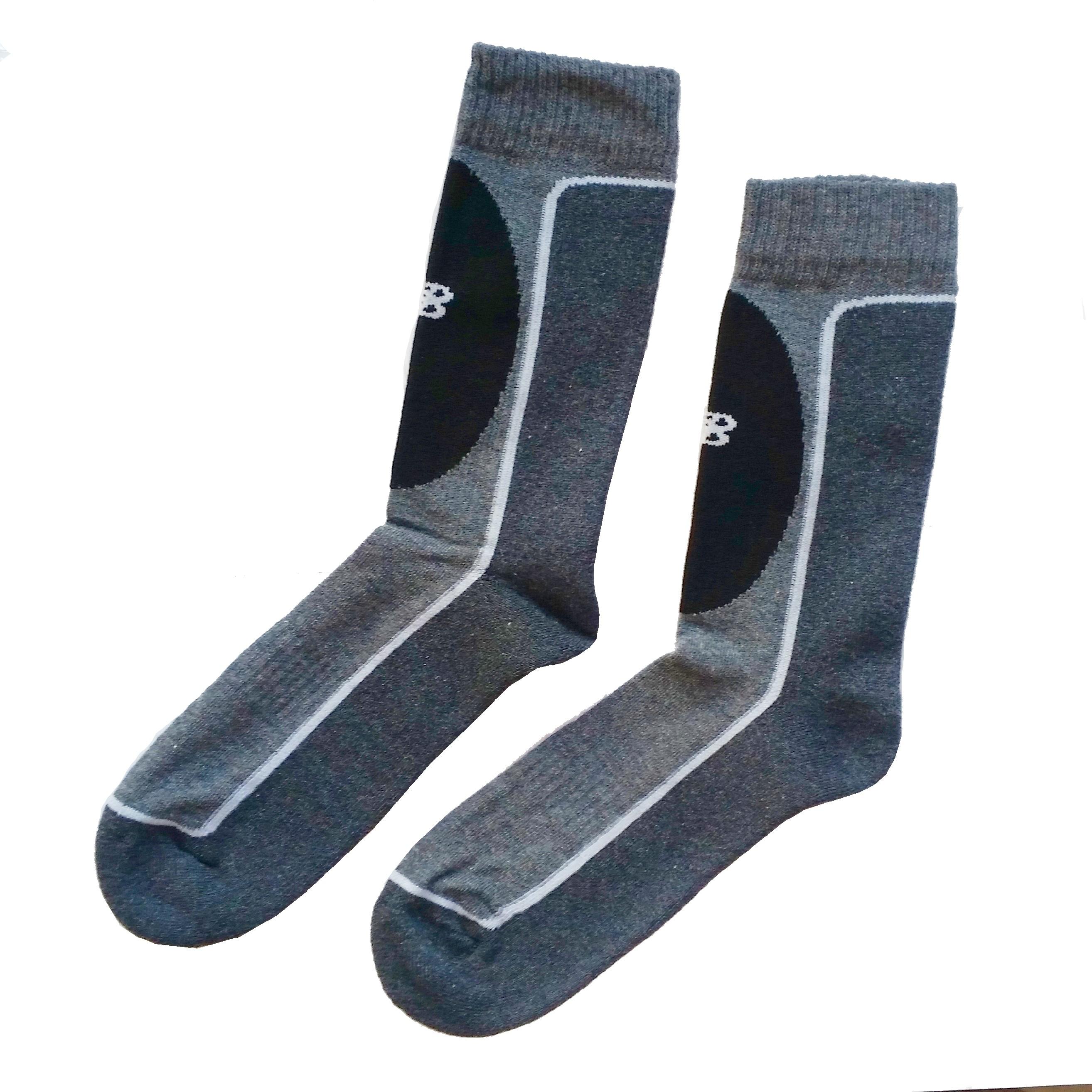 NEW BALANCE NBU57 trekking ponožky na turistiku, khaki, 39-42