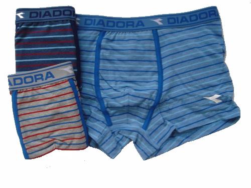 Diadora 803 chlapecké boxerky, modrá tmavá, 7-122