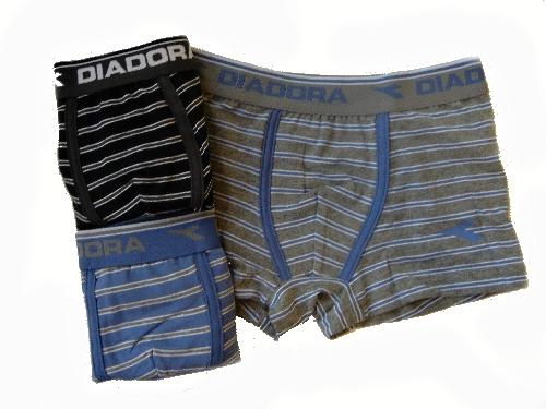 Diadora 862 chlapecké boxerky, modrá, 8-128