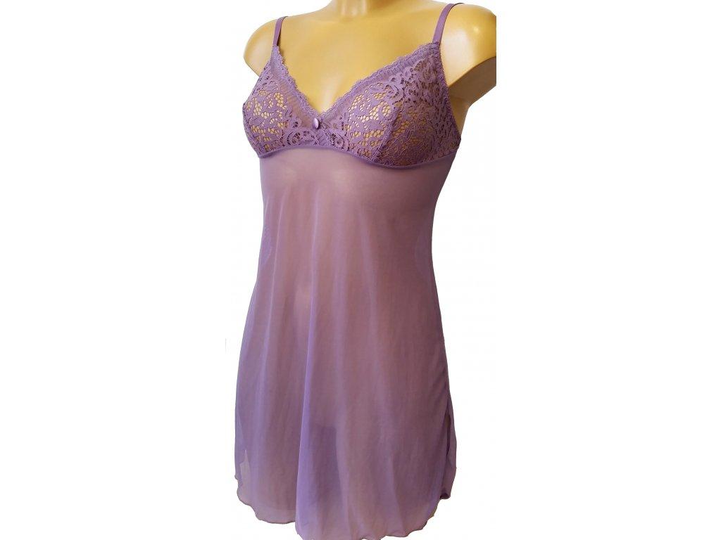 Sielei Parigina dámská košilka, fialová, 75B