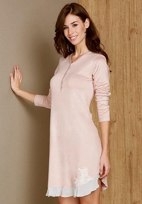 Andra 7892 dámská noční košile, béžová, XL