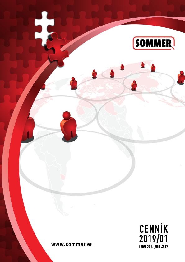obalka cenník Sommer 2019