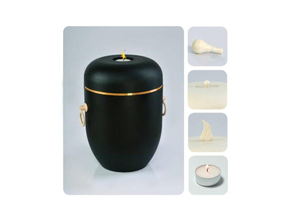 urna lumina standard plus black