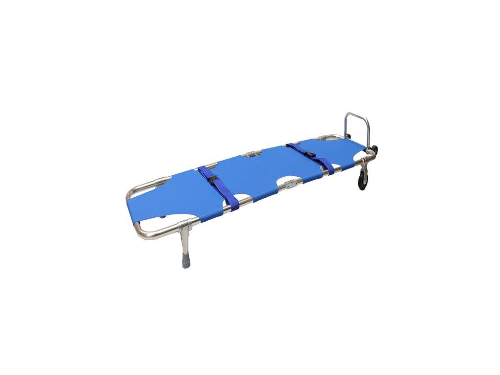 Nosidlá textilné - modré, s podperou nôh
