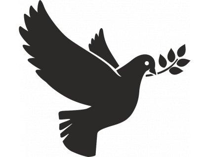 nalepka holubica