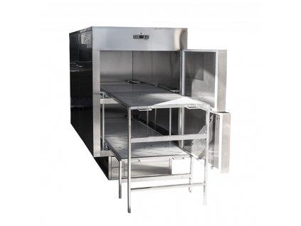 Chladiace zariadenie pre 2 telá