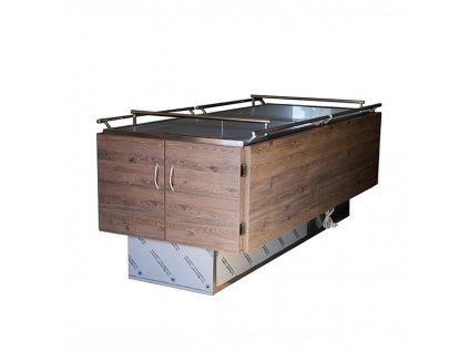 Chladiace zariadenie pre 1 telo