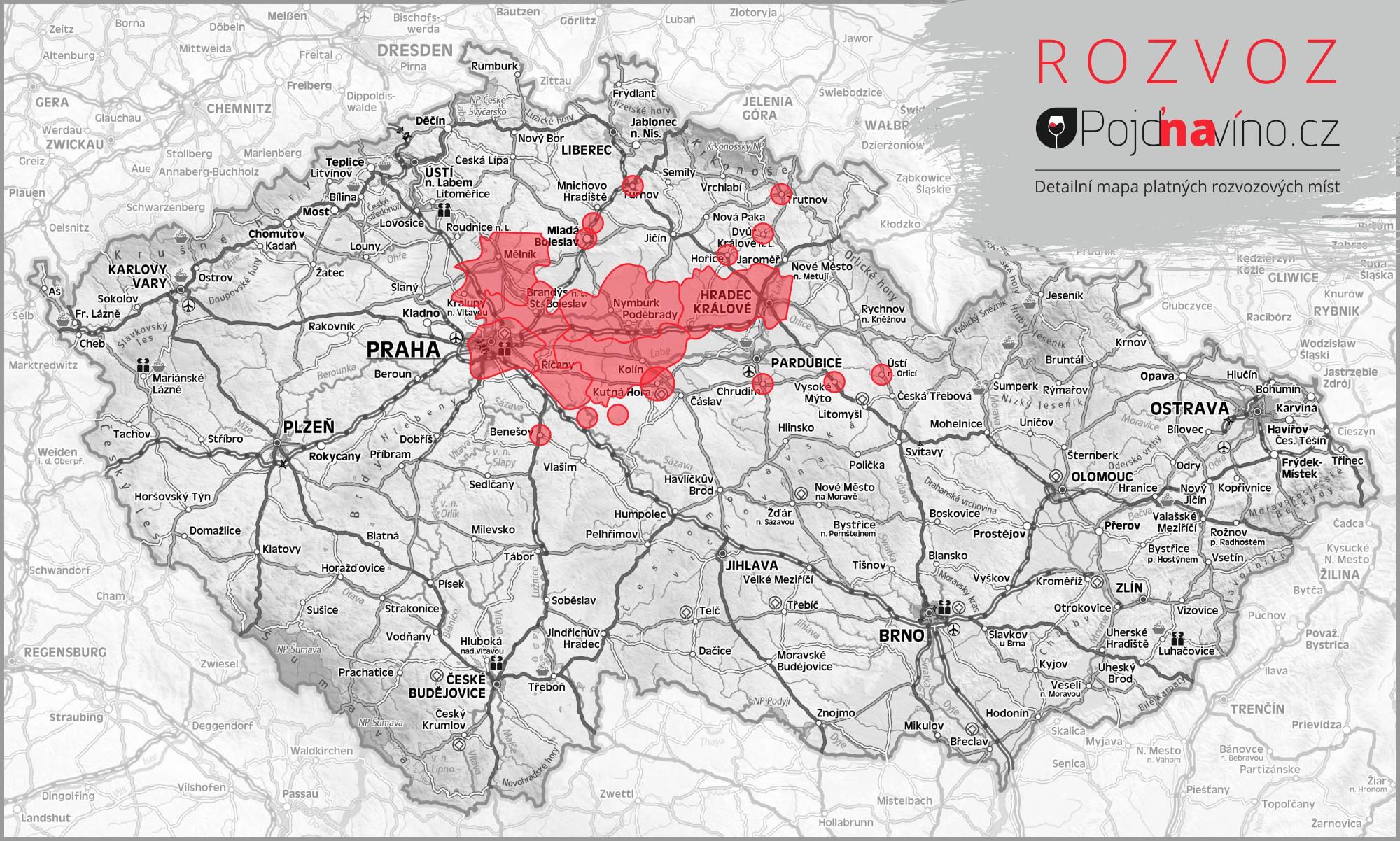 mapa_rozvozu_Pojdnavino.cz