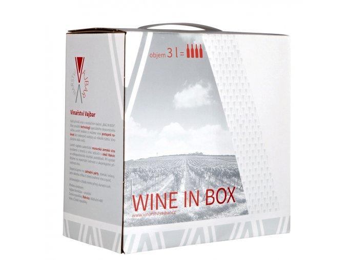 Frankovka Rosé  | Bag in Box 3l | 2018 | polosladké| moravské zemské víno | Vinařství Vajba