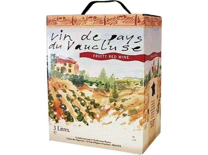 Červené FRUITY (Syrah + Grenache) | Bag in Box 3l | Vinařství Marennon
