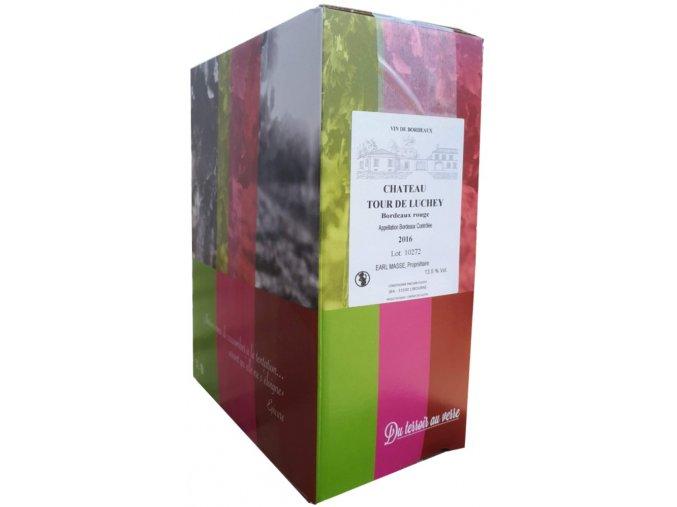 Chateau Tour de Luchey | Bag in Box 3l | Vinařství Bordeaux vins
