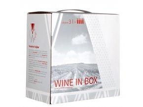 Frankovka Rosé  | Bag in Box 3l | 2018 | polosuché | moravské zemské víno | Vinařství Vajba