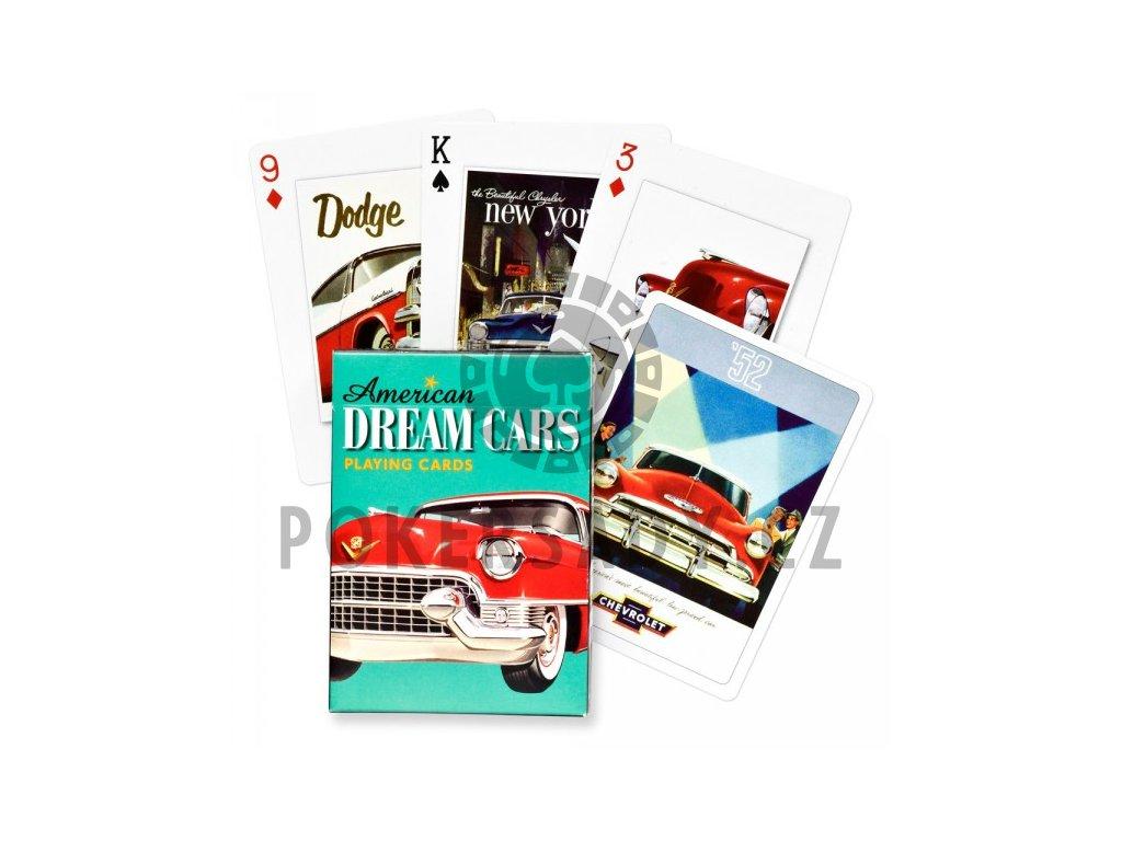 Poker karty Piatnik American Dream Cars