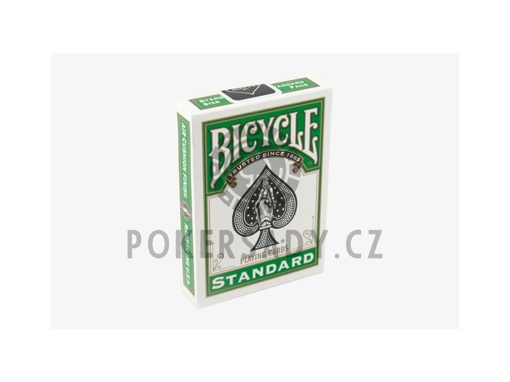 Karty na poker Bicycle - Green back