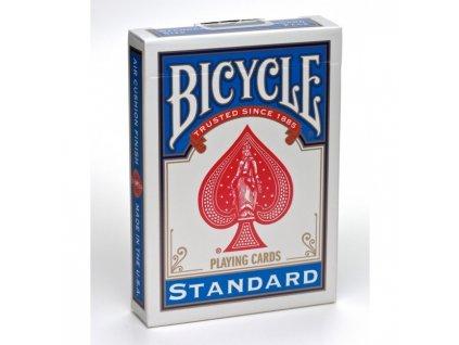 Poker karty Bicycle STANDARD Rider Back Index BLUE