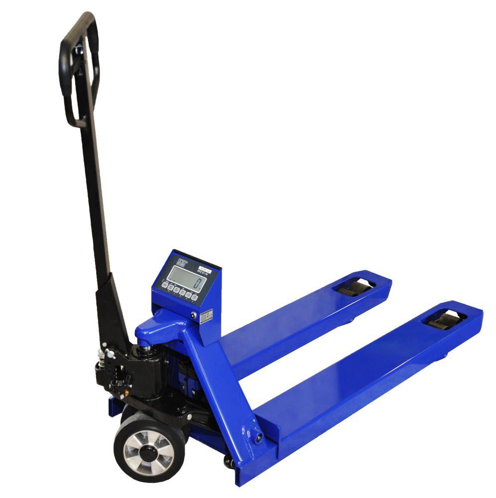 Vážicí paletový vozík
