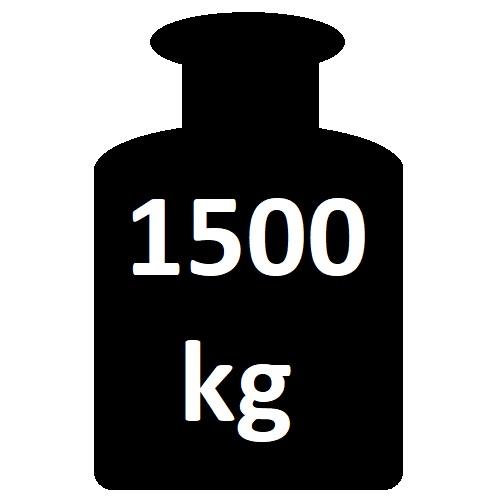 do 1500 kg